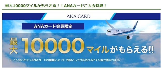 ANA VISA Suicaカード ポイント還元率・マイル・キャンペーン